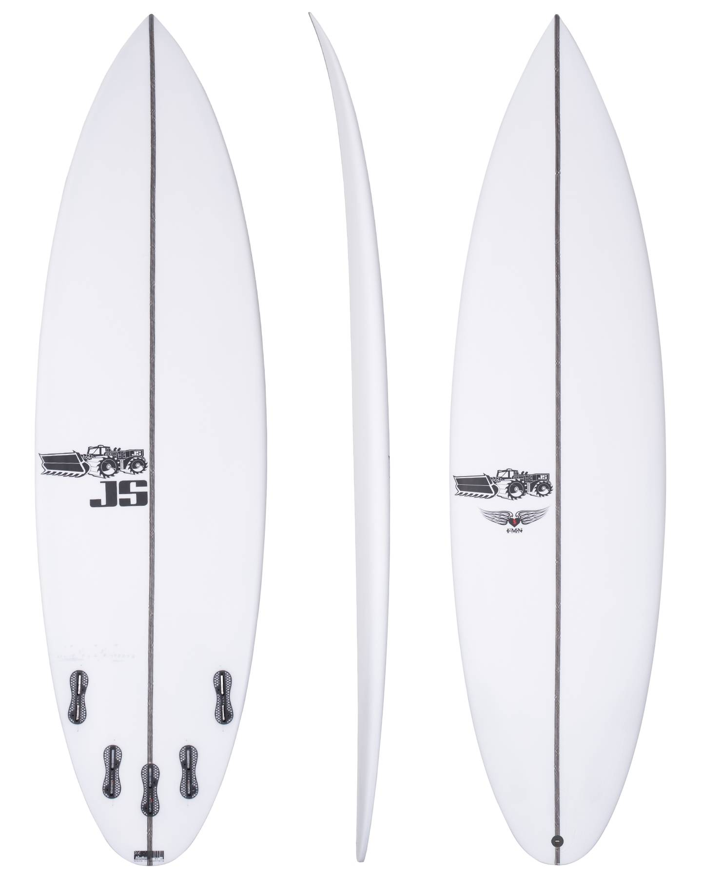 Usa Forget Me Not Rounded Pin The Vault Surfboards